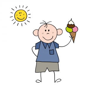 gambar-kartun-anak-lelaki-dengan-es-krim